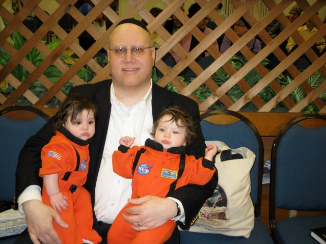 Michael With Muffin and Squeaker, Astronauts